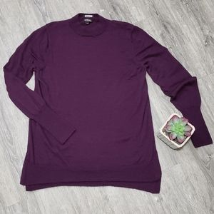 Badgley Mischka Merino Wool Sweater * Size M